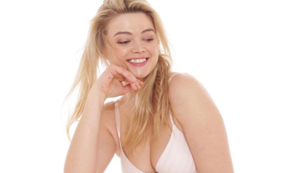 Plus-size model's painful body journey