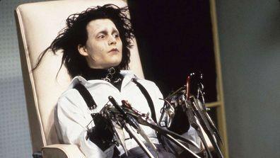 Johnny Depp, Edward Scissorhands