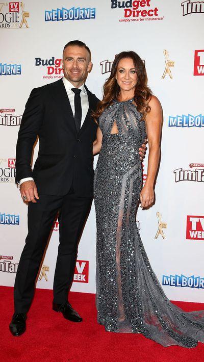 Steve 'Commando' Willis and Michelle Bridges<br>