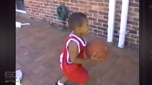 Simmons was the youngest of six kids under the one roof. (60 Minutes)