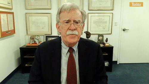 Former National Security Advisor John Bolton.