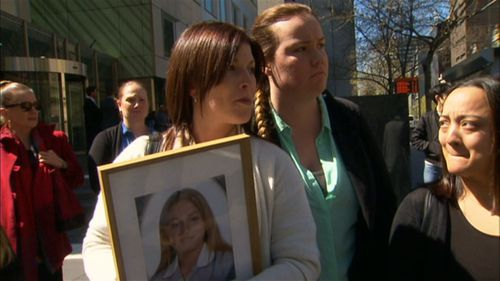 Alesha's mother Katrina Gavan told the court in a statement that she was 'broken' and would never recover.