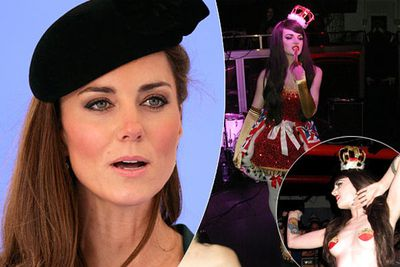 Kate Middleton's distant cousin Katrina Darling made a name for herself as a burlesque dancer stripping to 'God Save The Queen'. In 2012 she posed for <i>Playboy</i>.