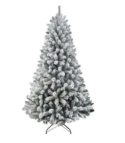 "<a href=""http://shop.davidjones.com.au/djs/en/davidjones/210cm-north-star-flocked-tree-green"" target=""_blank"">David Jones North Star Flocked Christmas Tree, $269 (210cm).</a>"