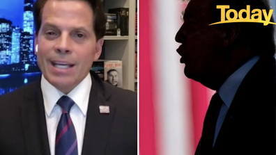 Scaramucci attacked Trump on Today.