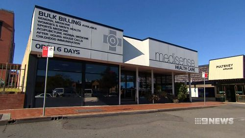 Ms Lapson lost consciousness while getting an injection at the Medisense Health Care Centre in Taree on July 31.