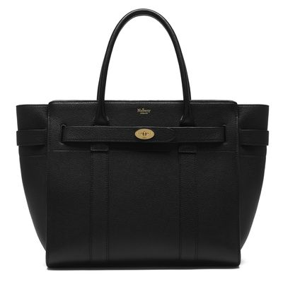 "And okay - this one is expensive but a pregnant woman deserves a little something special. Just ask Amal who carries a luxe handbag at all times. Our current fave - <a href=""http://www.mulberry.com/bg/shop/family/zipped-bayswater?gclid=CL_O9dihvNMCFdEGKgodY0ENFg&amp;gclsrc=aw.ds"" target=""_blank"">Mulberry Zipped Bayswater, $2650.</a>"