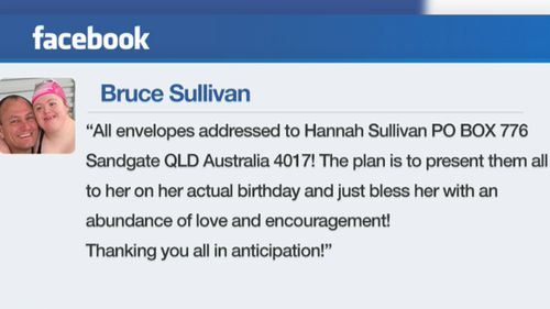 Queensland dad's birthday call-out for his 'beautiful and