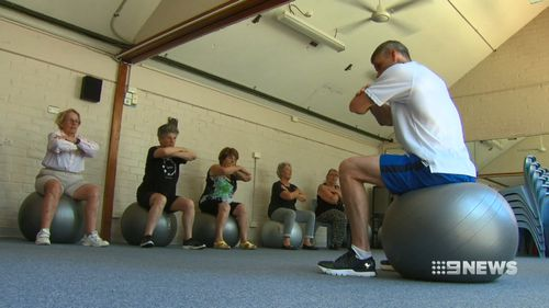Exercises focused on balance can help prevent falls in seniors.
