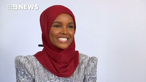 Halima Aden is the world's first hijab-wearing supermodel. (Reuters)