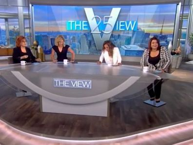 The View hosts COVID diagnosis on live TV