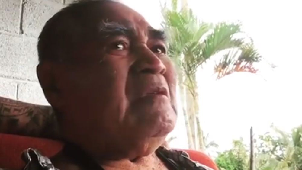 Andrew Fifita's grandfather gets emotional when told he will be playing for Tonga at Rugby League World Cup