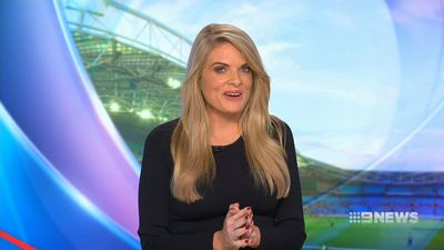 NRL Footy Show host Erin Molan healthy and well after fall