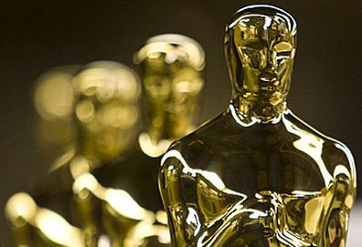 Oscars statuettes (AAP)