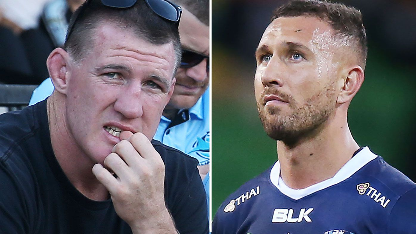 'What sort of club would want him?' Paul Gallen unsure how Quade Cooper would land on an NRL team