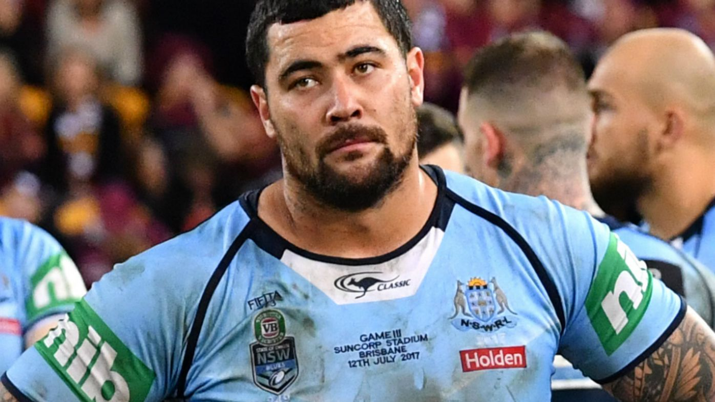 Andrew Fifita says he'll play State of Origin for free if selected