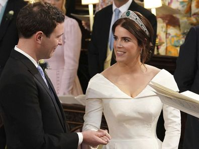 Princess Eugenie and Jack Brooksbank during their 2018 wedding.