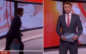 BBC news anchor has hilarious fail on live television