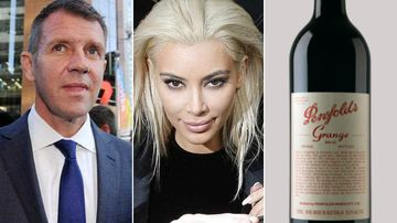 Premier Mike Baird has opened up on Penfolds wine and the Kardashian family ahead of the state election. (AAP/AP)
