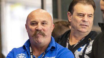 CFMEU officials John Setka (right) and Shaun Reardon (left) . (AAP)