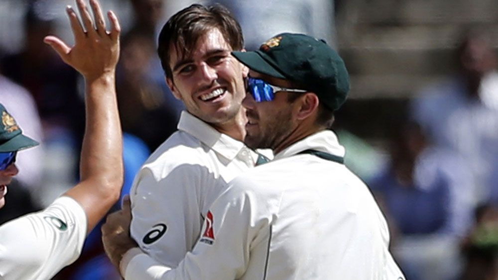 Australian paceman Pat Cummins performed well uunder pressure in Ranchi.