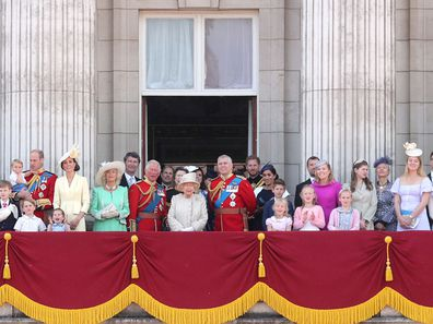 Trooping the Colour 2019 balcony shot Flora Alexandra Ogilvy 1