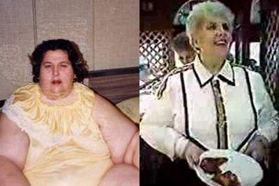 <strong>Rosalie Bradford (lost 349 kg)</strong>