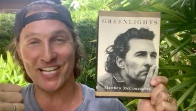 Matthew McConaughey, book, Greenlights