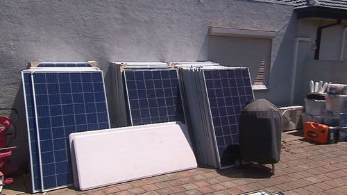 There are concerns the solar panels could catch fire, or electrocute homeowners.