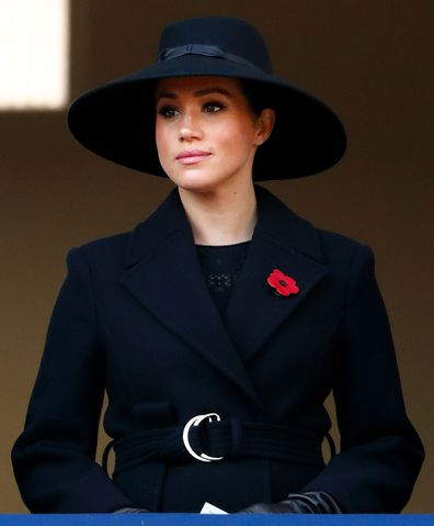 Stella McCartney Meghan Markle Remembrance Sunday coat