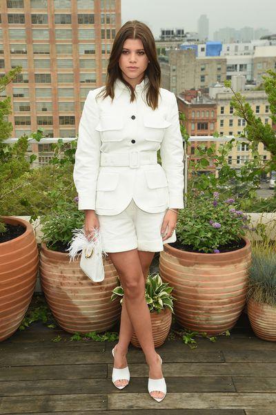 Model Sofia Richie at the Oscar De La Renta show for New York Fashion Week, September 11, 2018