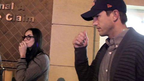 WATCH: Demi Moore and Ashton Kutcher reunite!