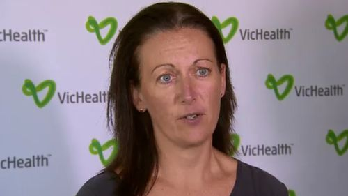 Kirstan Corben from Vic Health weighed in on the nutritional policies of our supermarkets. (9NEWS)