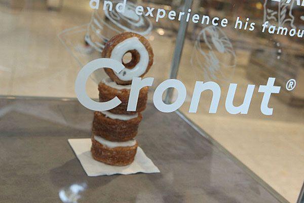 Gourmet cronut