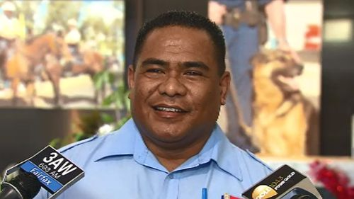 Bus driver Faavae Tuiloma said he forgives his attackers. (9NEWS)