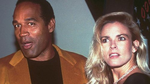 O.J. Simpson and his ex-wife, Nicole Brown Simpson, are shown in this October 19, 1993, file photo. On June 12, 1994, Nicole Brown Simpson was slashed to death along with a friend, Ronald Goldman, outside her condominium in Los Angeles.
