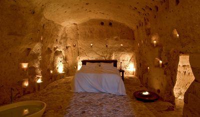 <strong>Sextantio Le Grotte della Civita, Matera, Italy</strong>