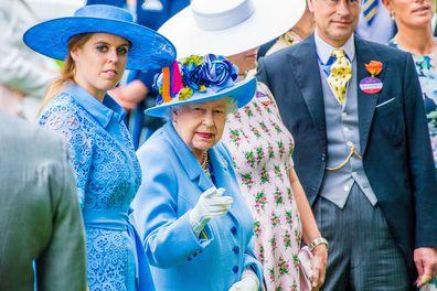Princess Beatrice Wedding Queen Elizabeth