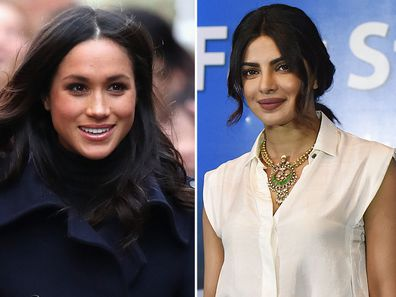 Meghan Markle and Priyanka Chopra