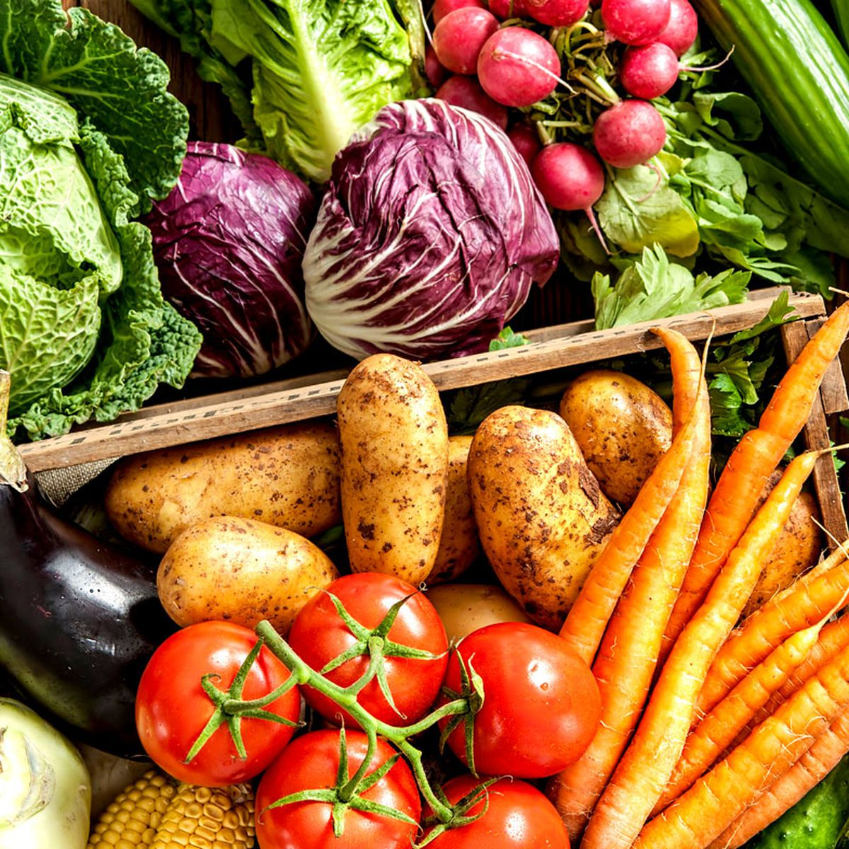 WHY YOU SHOULD EAT MORE VEGETABLES