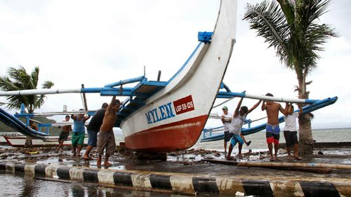 Philippines set to be hammered by monster typhoon Hagupit
