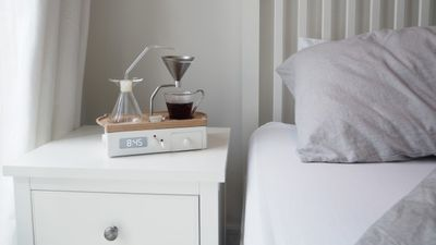 Fresh-brew alarm clock, $753.11 (US$551.99)