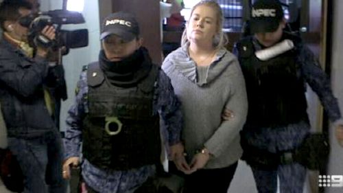 Cassie Sainsbury was arrested in April. (9NEWS)