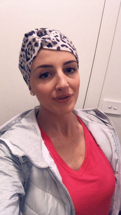 Natalie NBCF head scarf