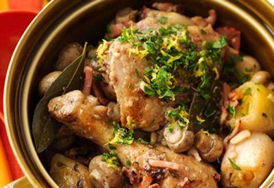 Wednesday: Chicken casserole
