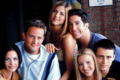 <B>When it finished:</B> 2004.<br/><br/><B>Why it sucked:</B> Series finales often pile on the sappy sentiment, and boy, did the <I>Friends</I> finale pile on the sappy sentiment — the two-part episode is so sugary it should <em>never </em>be viewed by diabetics. After lurching on well past its best-by date, <em>Friends </em>wrapped up with Monica (Courteney Cox) and Chandler (Matthew Perry) having twins, and Ross (David Schwimmer) and Rachel (Jennifer Aniston) finally hooking up for real.