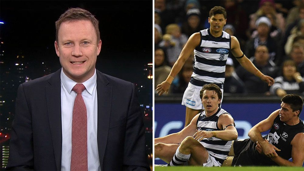 Former AFL forward Nathan Brown says game has gone mad over Patrick Dangerfield suspension