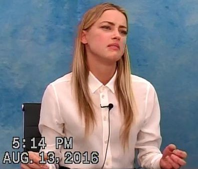 Amber Heard and Johnny Depp deposition video
