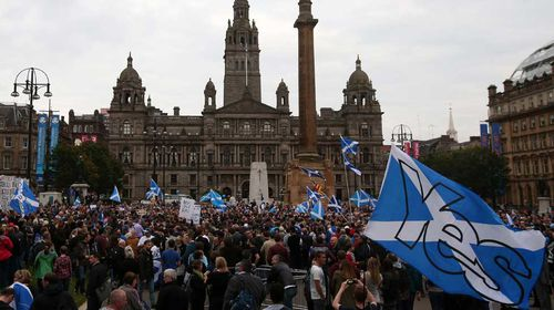 What will happen if Scotland leaves the UK? (Gallery)