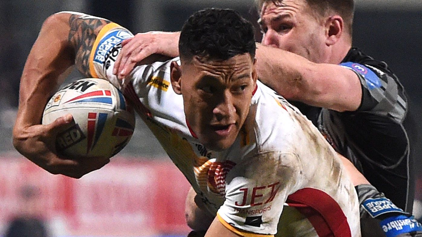 Israel Folau should be allowed to return to NRL, says Catalans Dragons coach
